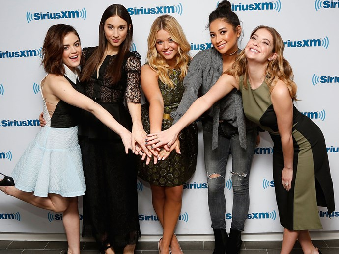 All of the Pretty Little Liars wished Ashley Benson a happy birthday… except one