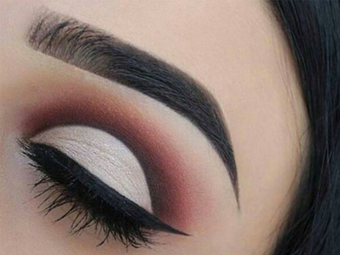 Boxed in eyebrows are not in style anymore