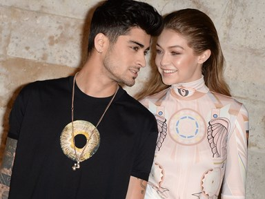 Zayn and Gigi's first Instagram of 2017 is so cute it'll make you vom