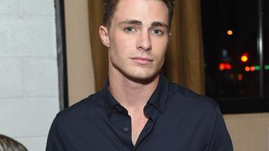 Colton Haynes has shared some srsly intense diary entries from his dark days
