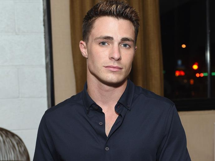 Colton Haynes has shared some intense diary entries from his dark days