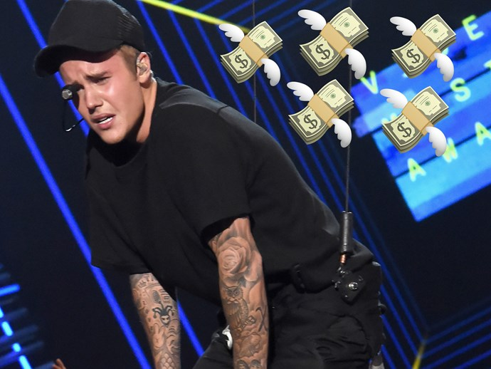 Justin Bieber has been sued for $1 million