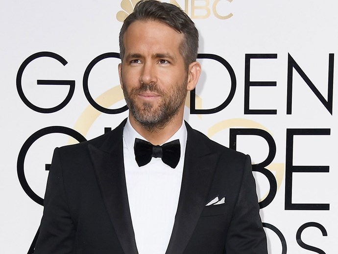 Golden Globe Awards 2017: Ryan Reynolds skincare regime