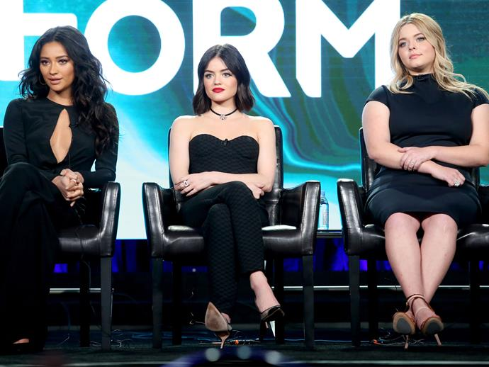 The 'Pretty Little Liars' cast just dropped a MAJOR spoiler about the series finale
