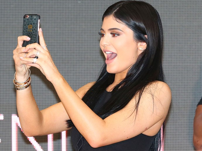 Kylie Jenner has been accused of a reaaally bad photoshop fail
