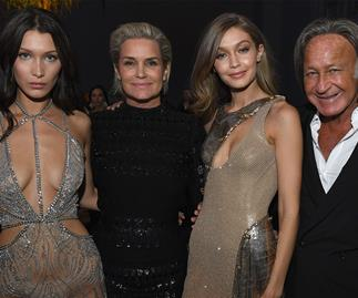 Mohamed Hadid shows support for Bella Hadid