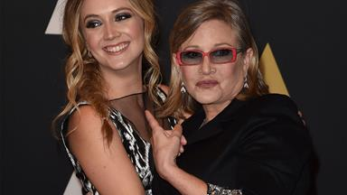 Billie Lourd wrote a heartbreaking message to her late mother