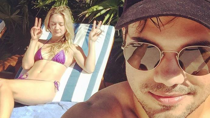 Taylor Lautner takes Billie Lourd on a cute af vacay