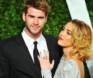 Miley Cyrus celebrated Liam Hemsworth's birthday with a weed party