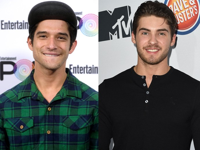 Tyler Posey and Cody Christian nude leaks