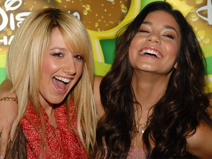 Ashley Tisdale and Vanessa Hudgens hang out