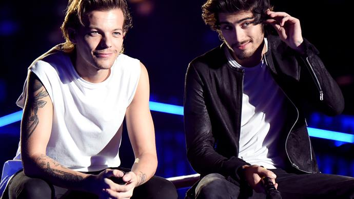 Louis Tomlinson has addressed his feud with Zayn