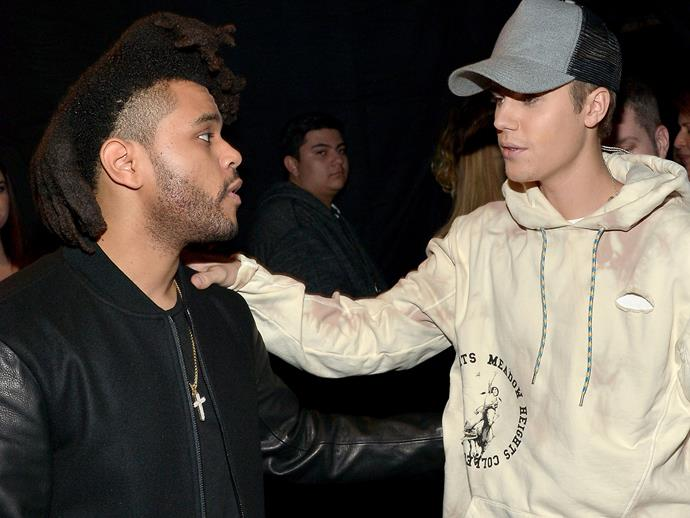 Justin Bieber just DRAGGED The Weeknd in public