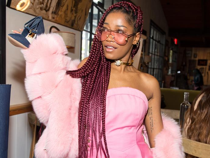 Keke Palmer calls out a rapper for srsly messing with her
