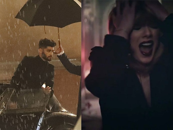 WATCH: Zayn just dropped an epic teaser of the 'IDWLF' music video