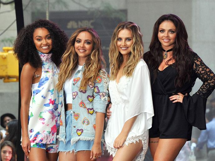 Little Mix have weighed in on the Fifth Harmony drama