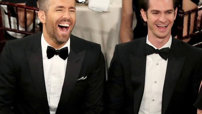 Andrew Garfield explains why he pashed Ryan Reynolds