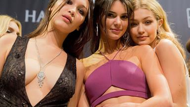 You NEED to see Kendall, Gigi and Bella's ~racy~ new shoot