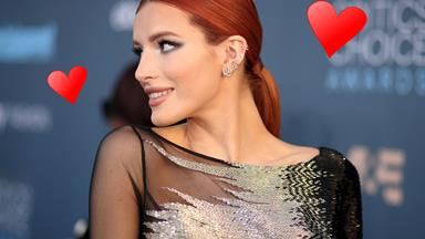 Can you guess how Bella Thorne is spending Valentine's Day?