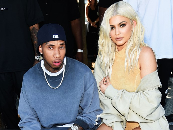 Tyga has spoken out about Kylie Jenner's plastic surgery