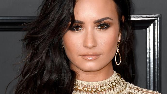 Demi Lovato brought her step-dad to the Grammy's