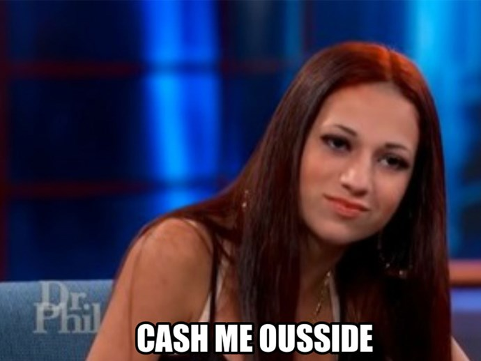 Cash me ousside girl Danielle Bregoli rips off Champion label
