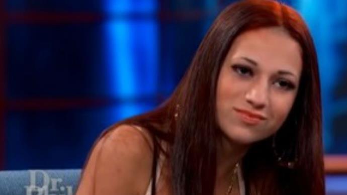 Cash me ousside girl Danielle Bregoli rips off Champion label