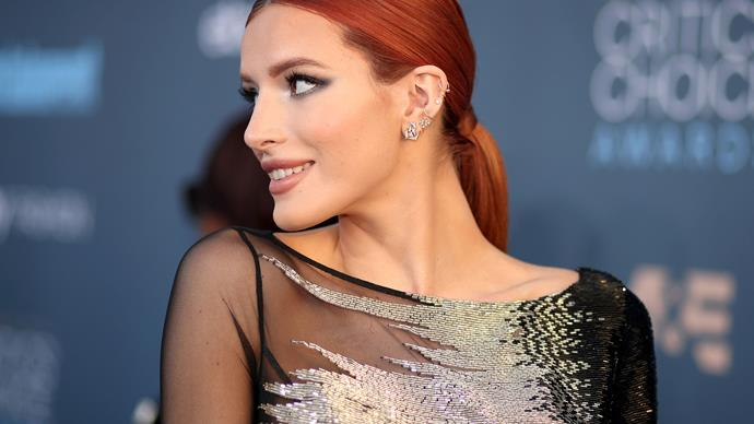 Bella Thorne lipstick collaboration with Buxom Cosmetics