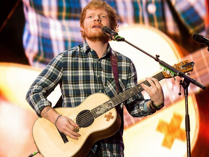 Ed Sheeran opens up about the ~controversy~ that went down at the Grammys after-party