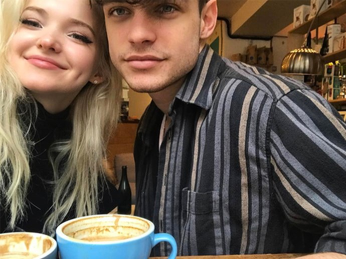 Dove Cameron confirms her relationship with Tom Doherty