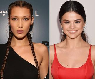 Selena Gomez and Bella Hadid have reacted to The Weeknd's diss track