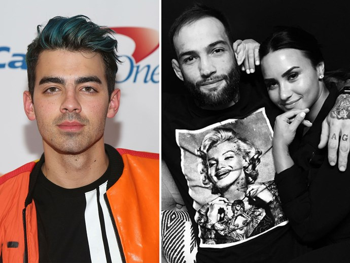 Joe Jonas dishes on Demi Lovato's new boyfriend
