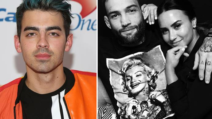 Joe Jonas dishes on Demi Lovato's new boyfriend