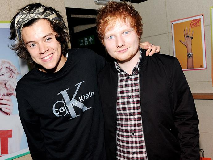 Ed Sheeran spills on Harry Styles' new album