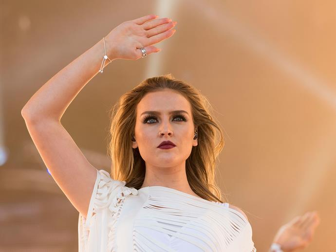 SPOTTED: Perrie Edwards having a ~steamy~ kiss in public