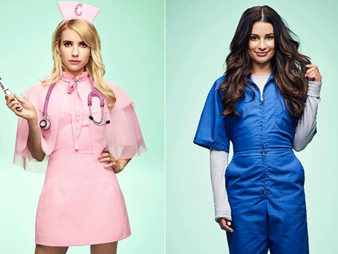 Lea Michele to leave Scream Queens cast