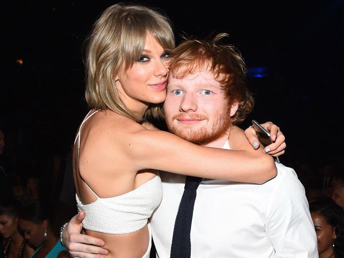 Ed Sheeran just majorly betrayed Taylor Swift