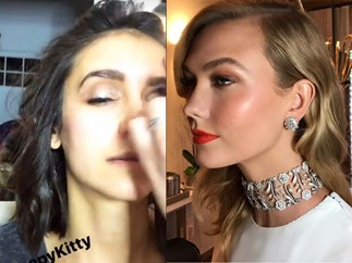 All your fave celebs getting glammed up for The Oscars