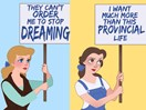 Disney Princesses reimagined as women's rights activists