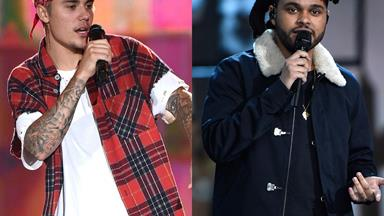 Justin Bieber just went up against The Weeknd