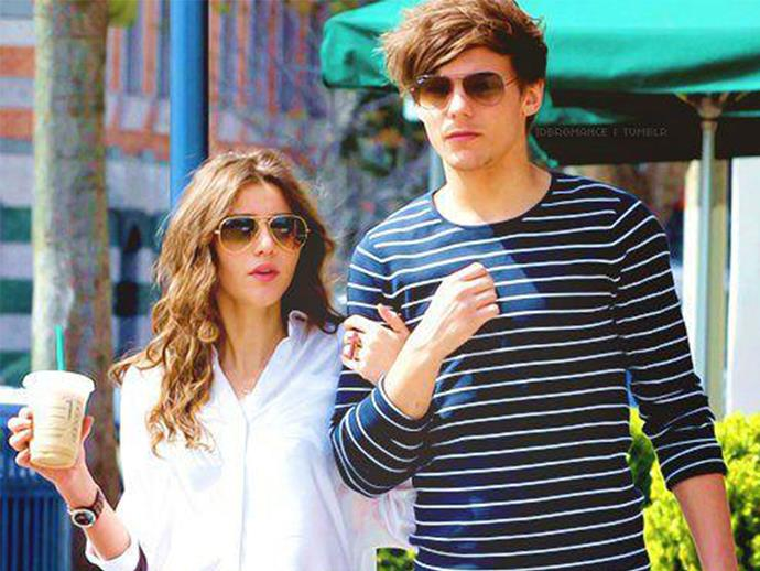 Proof that Louis Tomlinson and Eleanor Calder are dating
