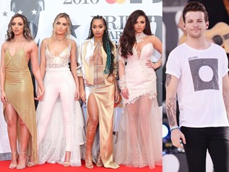 Little Mix have weighed in on Louis Tomlinson's airport fight