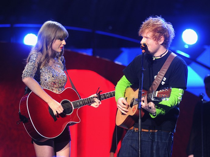 Does this evidence prove which of Taylor Swift's friends Ed Sheeran slept with?