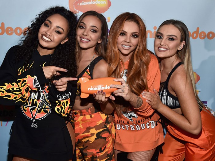 Little Mix fans are convinced that Jesy Nelson and Perrie Edwards are fighting