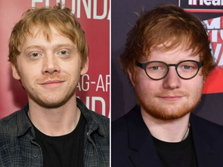 Rupert Grint dramatic reading of Ed Sheeran's 'Shape of You'