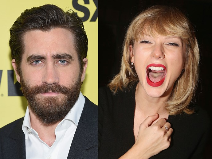 Jake Gyllenhaal awkwardly responds to Taylor Swift questions