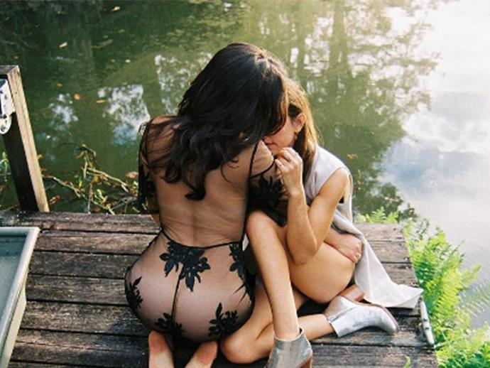 Lauren Jauregui and ex-girlfriend star in a 'coming out' photo shoot