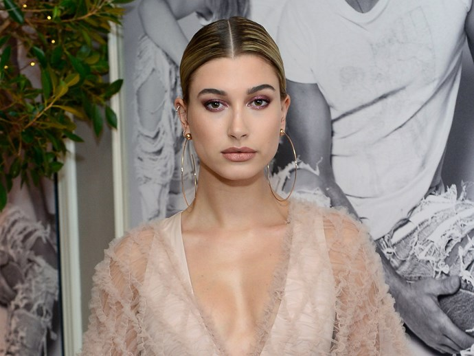 Hailey Baldwin at the Daily Front Row's 3rd Annual Fashion Los Angeles Awards