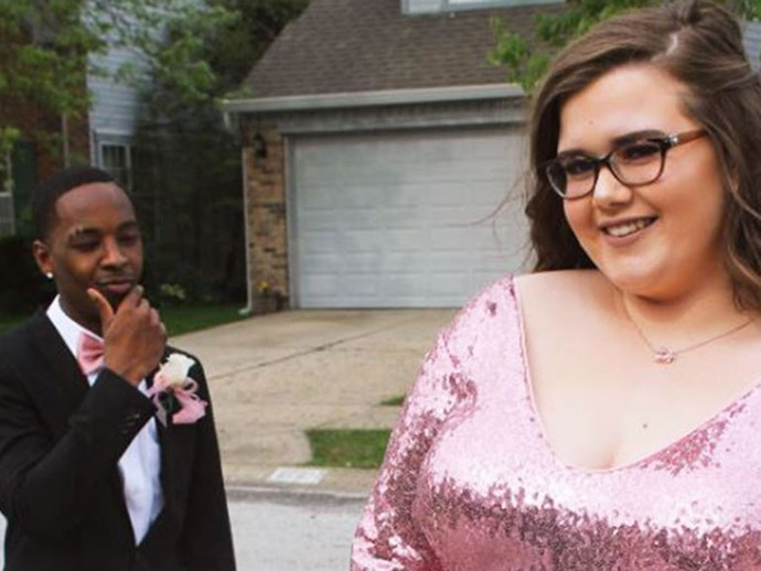 BOYFRIEND GOALS: This teen had the best reaction when somebody called his GF fat