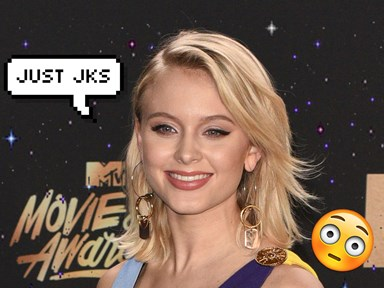 Zara Larsson kinda took back her criticism about '13 Reasons Why'